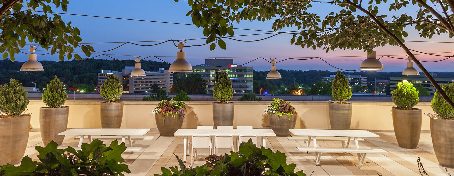 Gorgeous terrace with ample seating and grills